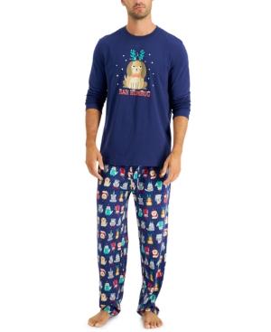 Men's Big & Tall Bah Humbug Pajama Set