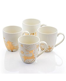 Holiday Cup Set of 4 Pieces
