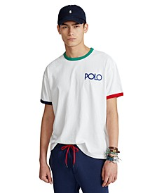 Men's Classic-Fit Logo Ringer T-Shirt