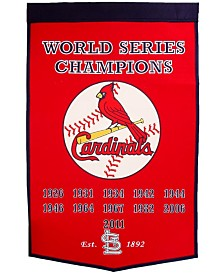 Winning Streak St. Louis Cardinals Dynasty Banner