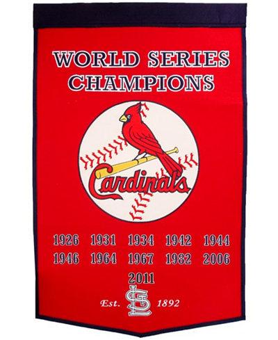Winning Streak St. Louis Cardinals Dynasty Banner
