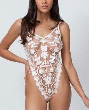 Women's Embroidered Bodysuit