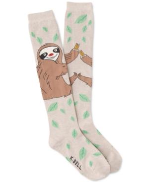 Women's Silly Sloth Knee-High Socks