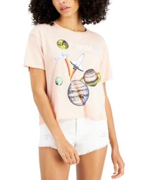 Juniors' Nasa Short-Sleeve T-Shirt