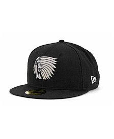 New Era Boston Braves MLB Black and White Fashion 59FIFTY Cap