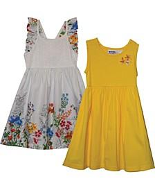 Little Girls Garden Insp 2 Pack Dress