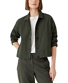Collared Button Jacket