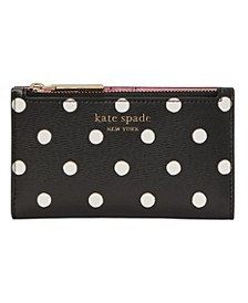 Spencer Sunshine Dot Small Slim Bifold Wallet