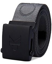 Men's 35mm CKJ Logo Web Belt