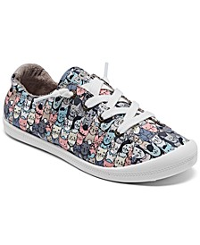Women's Bobs for Dogs and Cats Beach Bingo - Mellow Cats Slip-On Casual Sneakers from Finish Line
