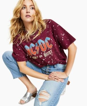 Cotton Ac/Dc-Graphic T-Shirt