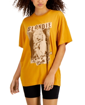 Juniors' Blondie Graphic Oversized T-Shirt