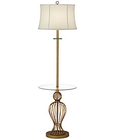CLOSEOUT! Pacific Coast Victorian Chateau Floor Lamp with Tray Table, Created for Macy's