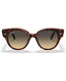 Women's Roundabout Sunglasses, RB2192 47