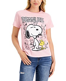 Juniors' Snoopy Graphic T-Shirt