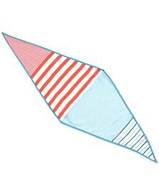 Americana Striped Diamond Scarf