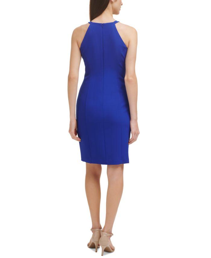 Vince Camuto Petite Ruffled Halter Dress   & Reviews - Dresses - Petites - Macy's