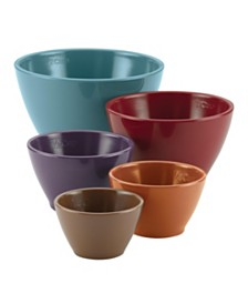 Cucina Melamine Nesting Measuring Cups, 5-Piece Set, Assorted