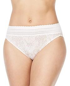No Pinching No Problems Lace Hi-Cut Brief Underwear 5109