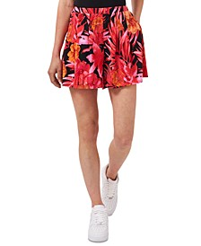 Amber Sun Tropical-Print Shorts, Created for Macy's