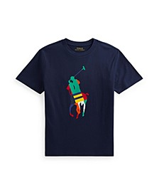 Big Boys Pony Jersey T-shirt