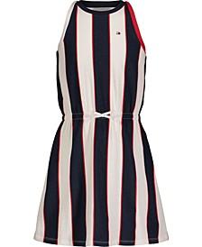Toddler Girls Striped Tank Dress