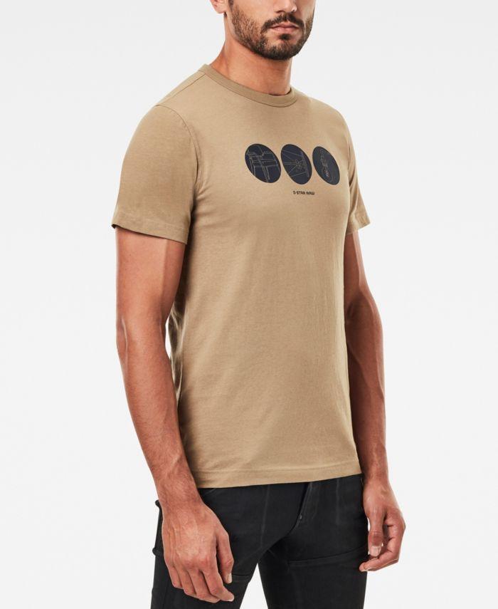 G-Star Raw Men's Circle Object Back Graphic T-shirt & Reviews - T-Shirts - Men - Macy's