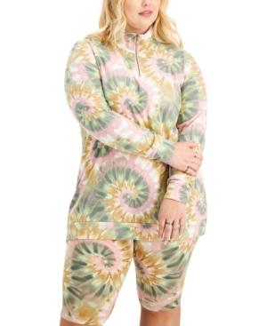 Trendy Plus Size Sweatshirt