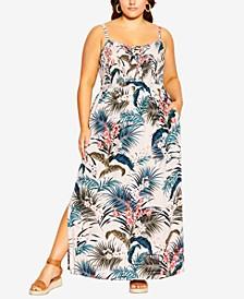 Plus Size Maldives Maxi Dress