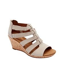 Women's Briah Gladiator Wedge Sandals