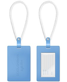 Receive a Free Light Blue Luggage Tag with any large spray purchase from the  Dolce & Gabbana Light Blue men's fragrance collection