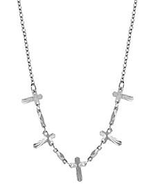 Multi Cross Chain Necklace