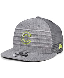 Chicago Cubs Cyber Gray Trucker 9FIFTY Cap