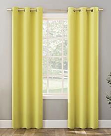 "Riley Kids Bedroom Blackout Grommet Curtain Panel, 84"" L x 40"" W"