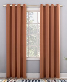 "Grant Room Darkening Grommet Curtain Panel, 84"" L x 54"" W"