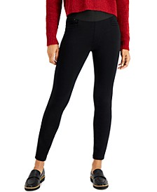 Pull-On Knit Ponte Pants, Created for Macy's
