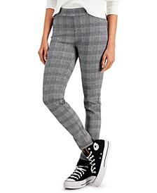 Plaid Leggings, Created for Macy's