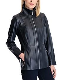 Petite Leather Jacket