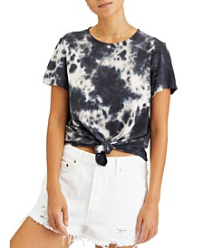 Perfect Knot Tie-Dyed T-Shirt