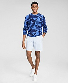 Men's Camouflage Cashmere Sweater, Created for Macy's