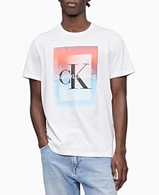 Men's Gradient Logo Graphic T-Shirt