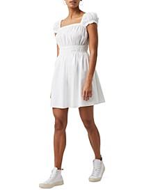 Almo Cotton Square-Neck Dress