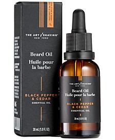 The Premium Beard Oil, Black Pepper & Cedar, 1 Fl Oz
