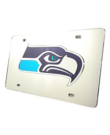 Rico Industries Seattle Seahawks License Plate