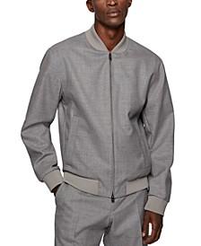 BOSS Men's Zip-Up Slim-Fit Jacket