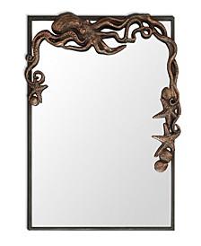 Octopus Rectangular Antique Wall Mirror