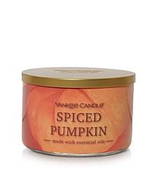 Novelty Spiced Pumpkin 3-Wick Jar Candle, 18 Oz