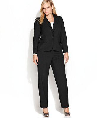 Calvin Klein Plus Size Suit Separates Collection - Wear to ...