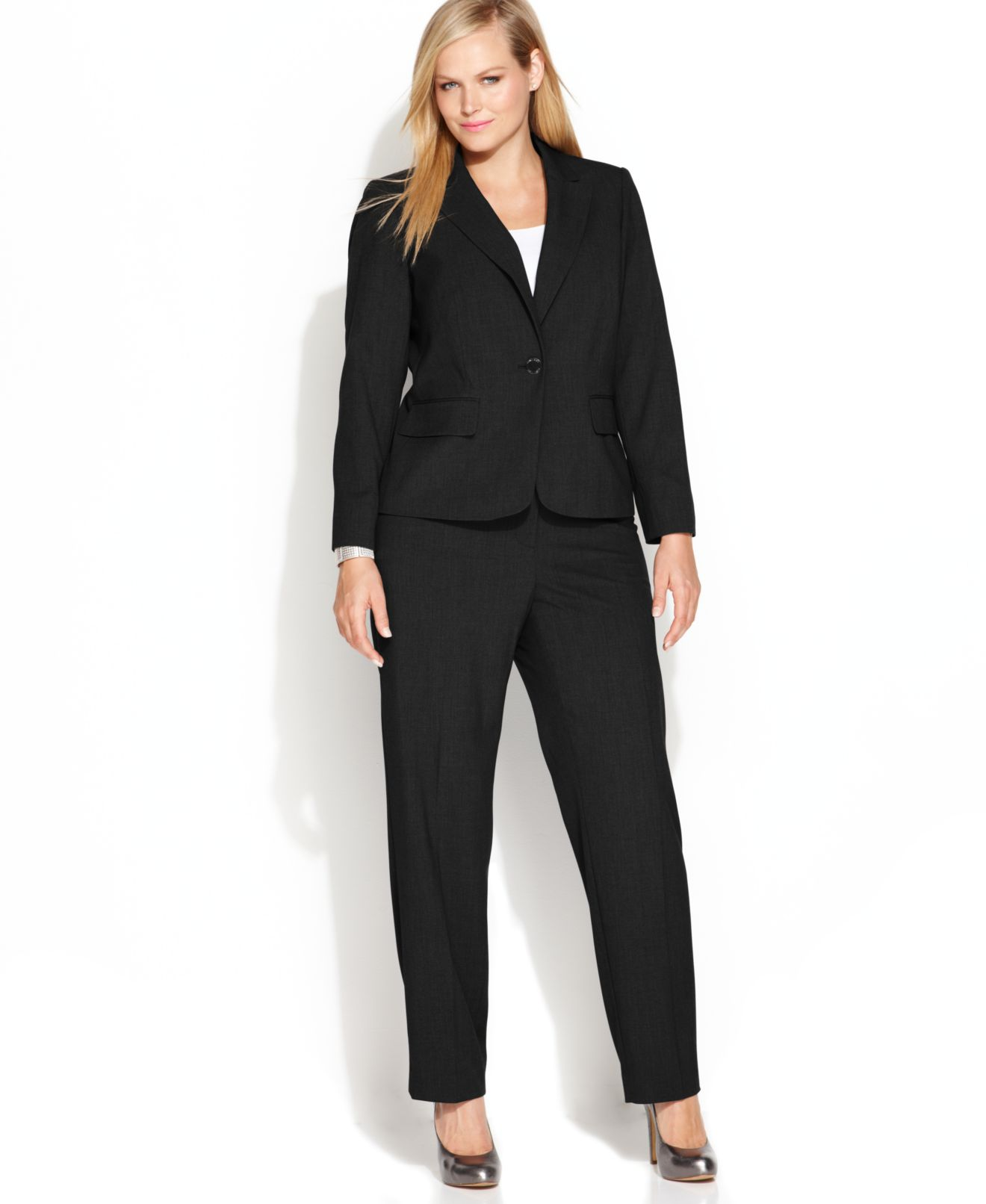 Calvin Klein Plus Size Suit Separates Collection - Wear to Work ...