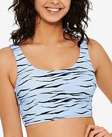 Juniors' Wild Cat Bikini Top, Created for Macy's